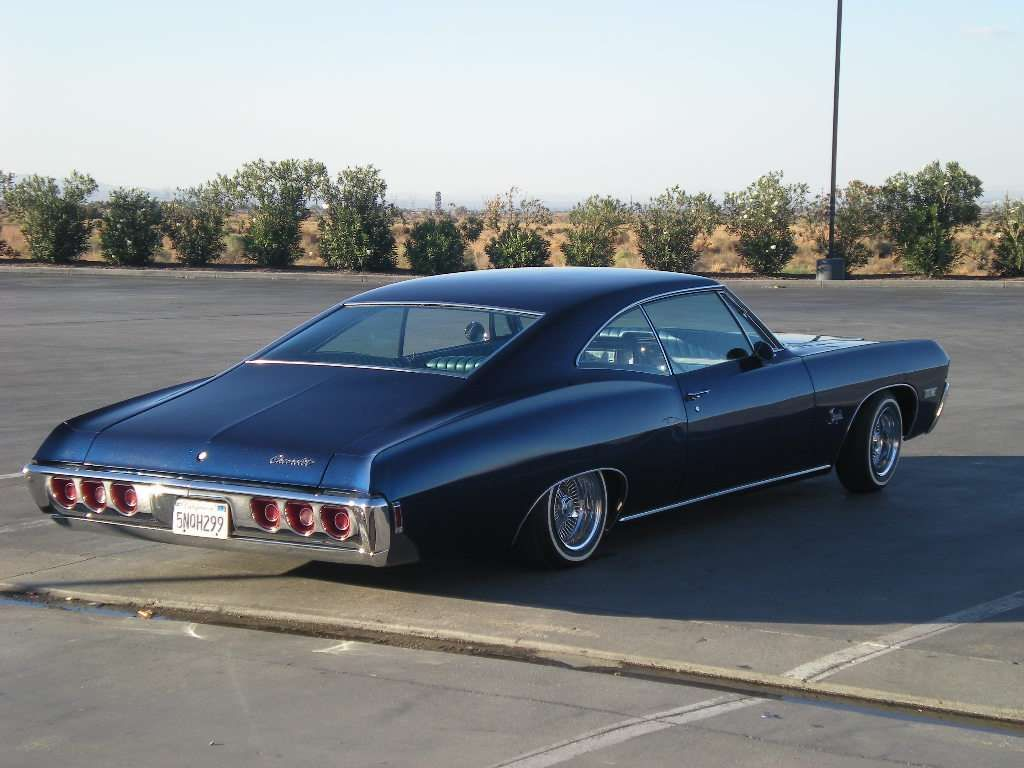 I have a 1968 impala fastback with hideaway headlights needs canisters it was painted and interior was done before i got the car but it s clean and