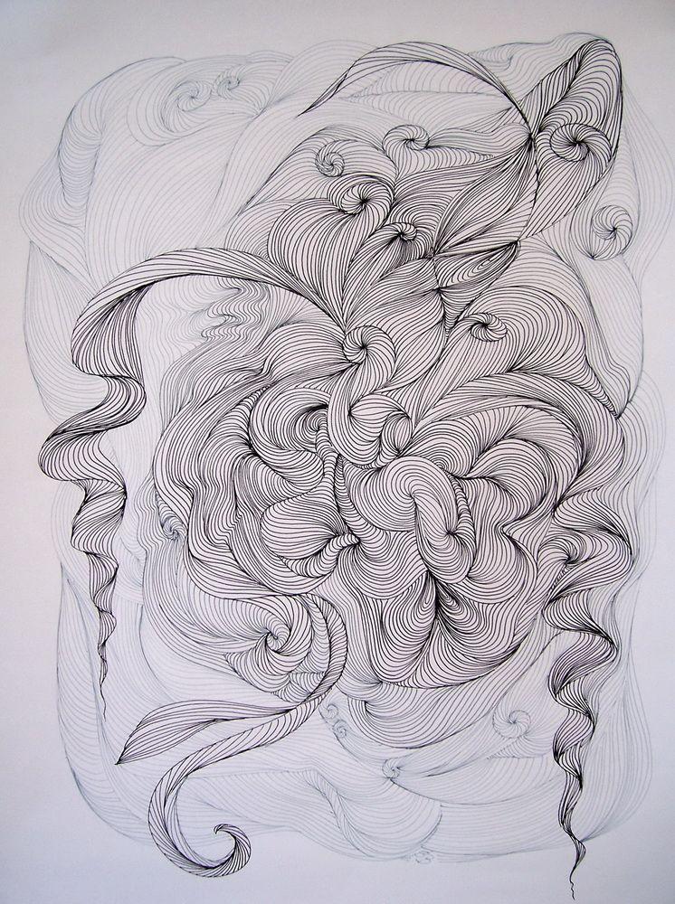 Galerie Grafiken Grafiken Aktzeichnung Zentangle Muster