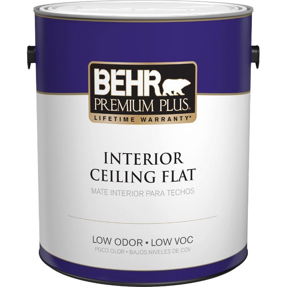 behr premium plus 1 gal ultra pure white ceiling flat on behr premium plus colors id=46080