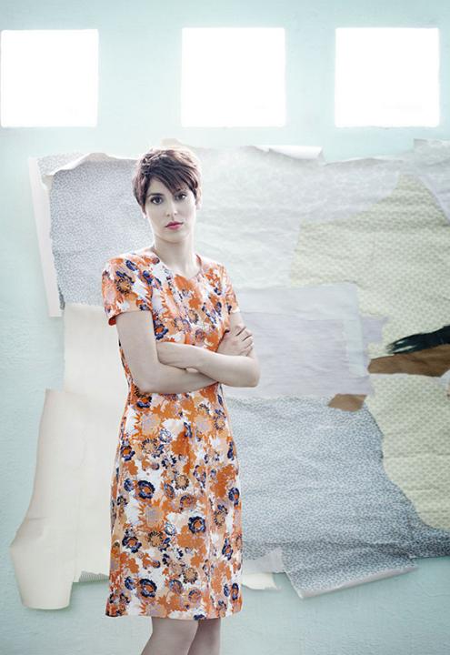 Pintura en femenino: artistas españolas que rompen moldes Miren Doiz. Fotografía: Germán Saiz  ¡Me gustó el vestido!