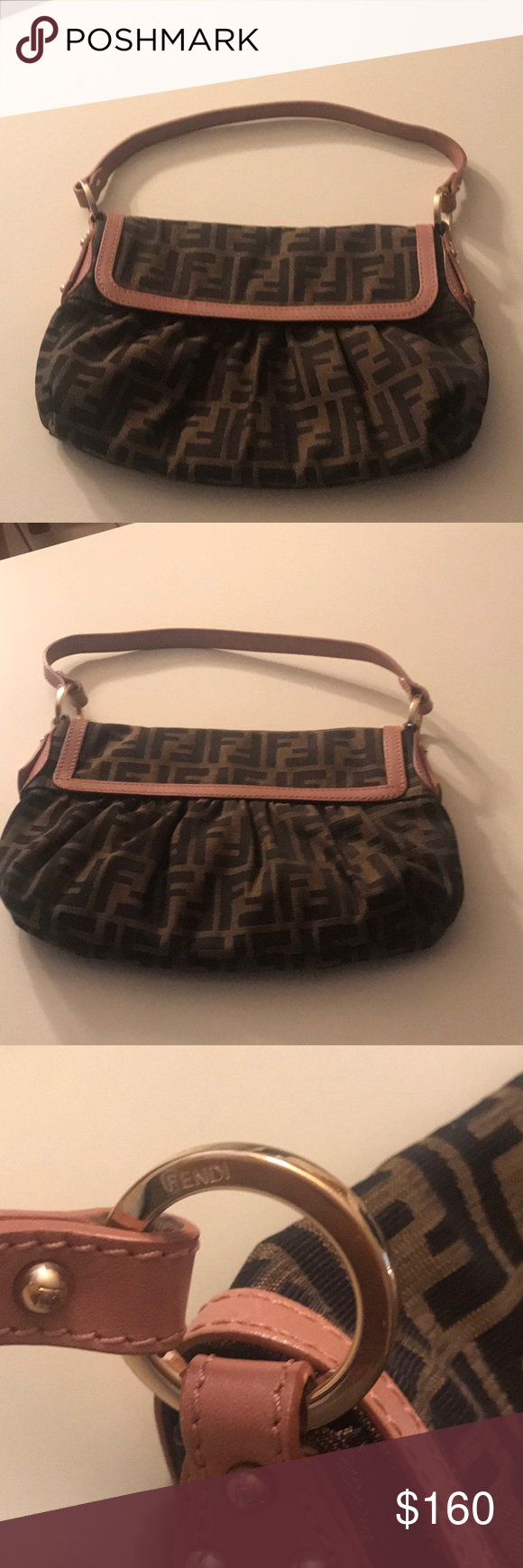 8f013326361 Fendi Zucca Bag Fendi Zucca monogram canvas bag. Serial number is  2415-8BR353-JWU-039. A few marks on the lining but otherwise in excellent  condition.