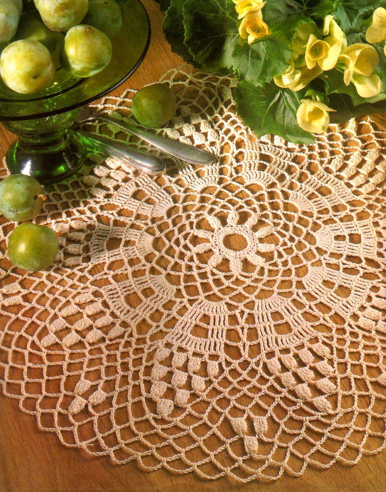 tejidos artesanales: carpeta reina claudia