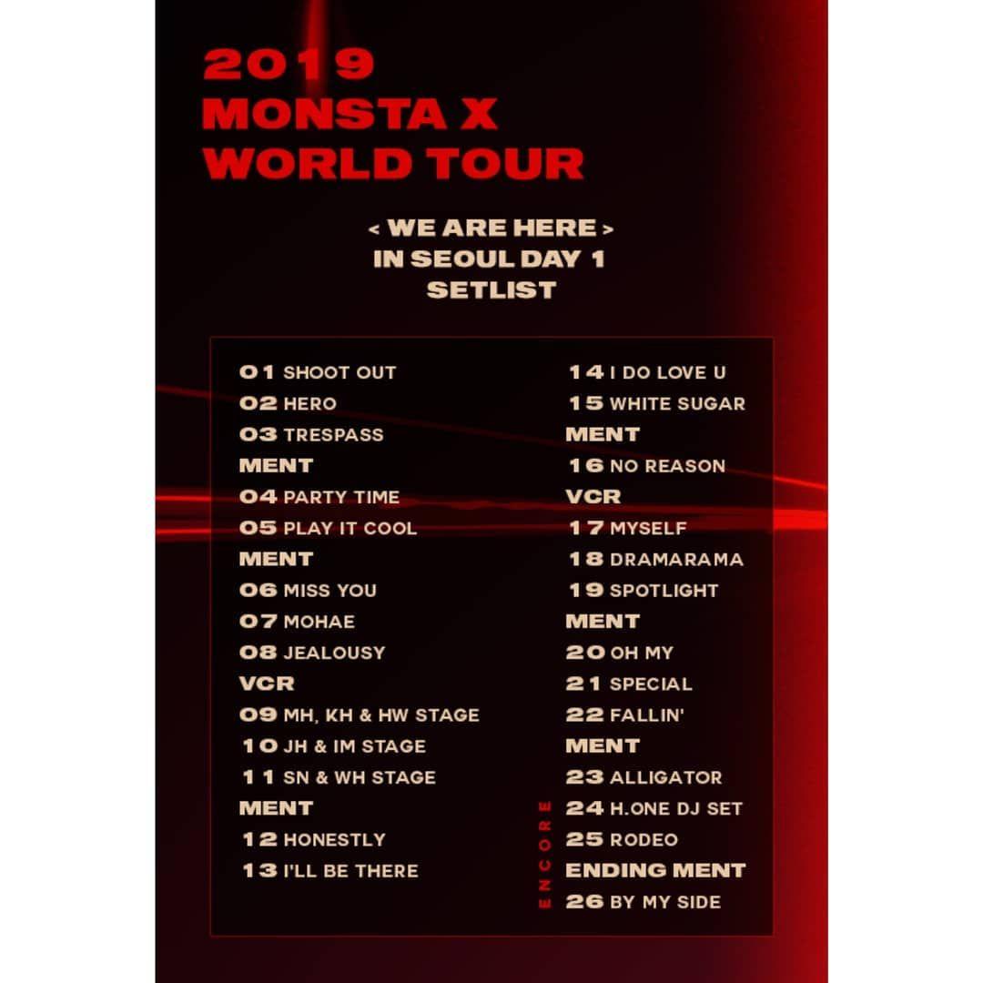 Take that these days tour setlist