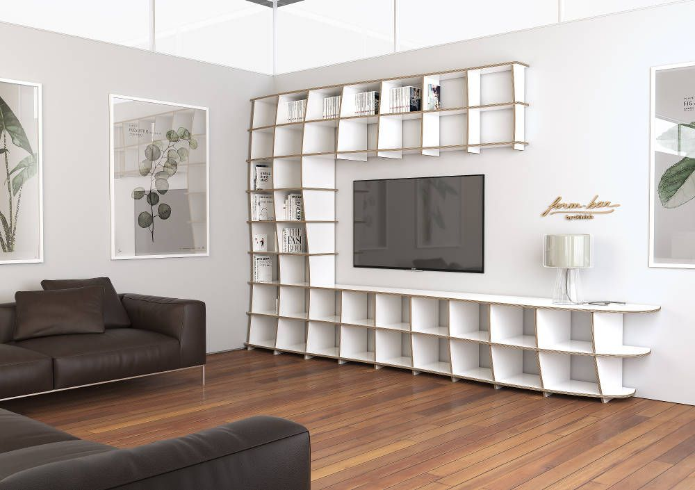 Wohnzimmerschrank Modern In 2020 Wohnzimmerschranke Wohnwand