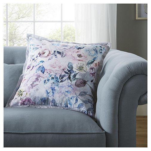 tesco direct fox ivy floral bloom cushion living room. Black Bedroom Furniture Sets. Home Design Ideas