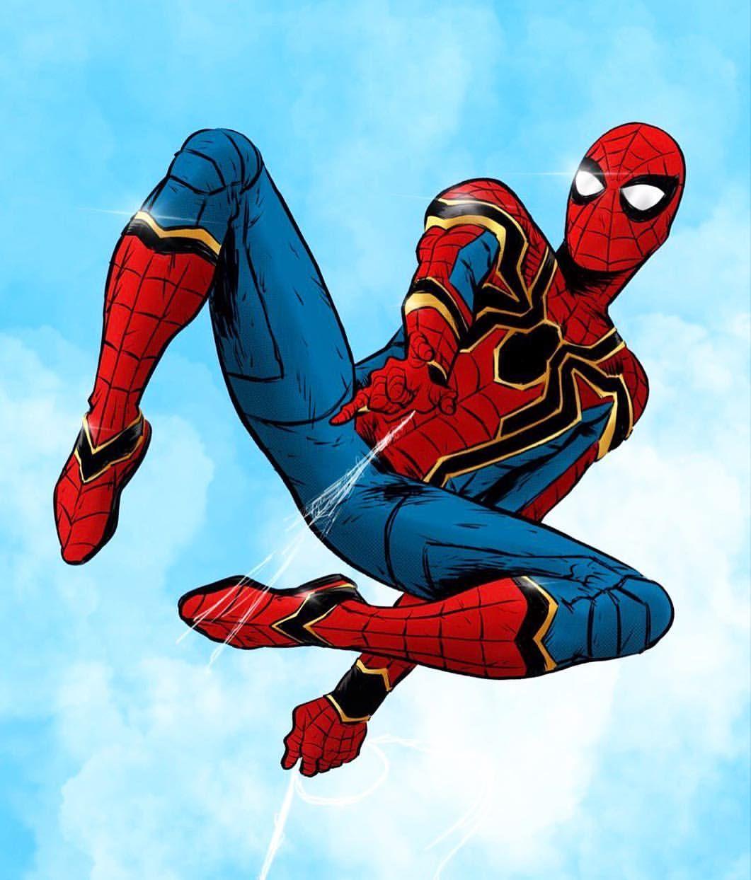 "40f94fc99 Kussainov Abylay (@abylaykussainov) on Instagram: ""Cool trailer btw # spiderman"""