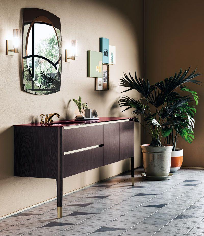 The Art Of Bathroom Puntotre Arredobagno Design Art Deco Bagno