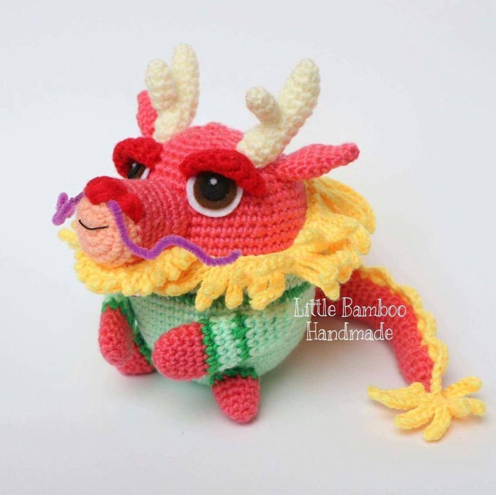 Image result for Free Crochet Amigurumi Dragon Pattern | Crochet ... | 999x1000