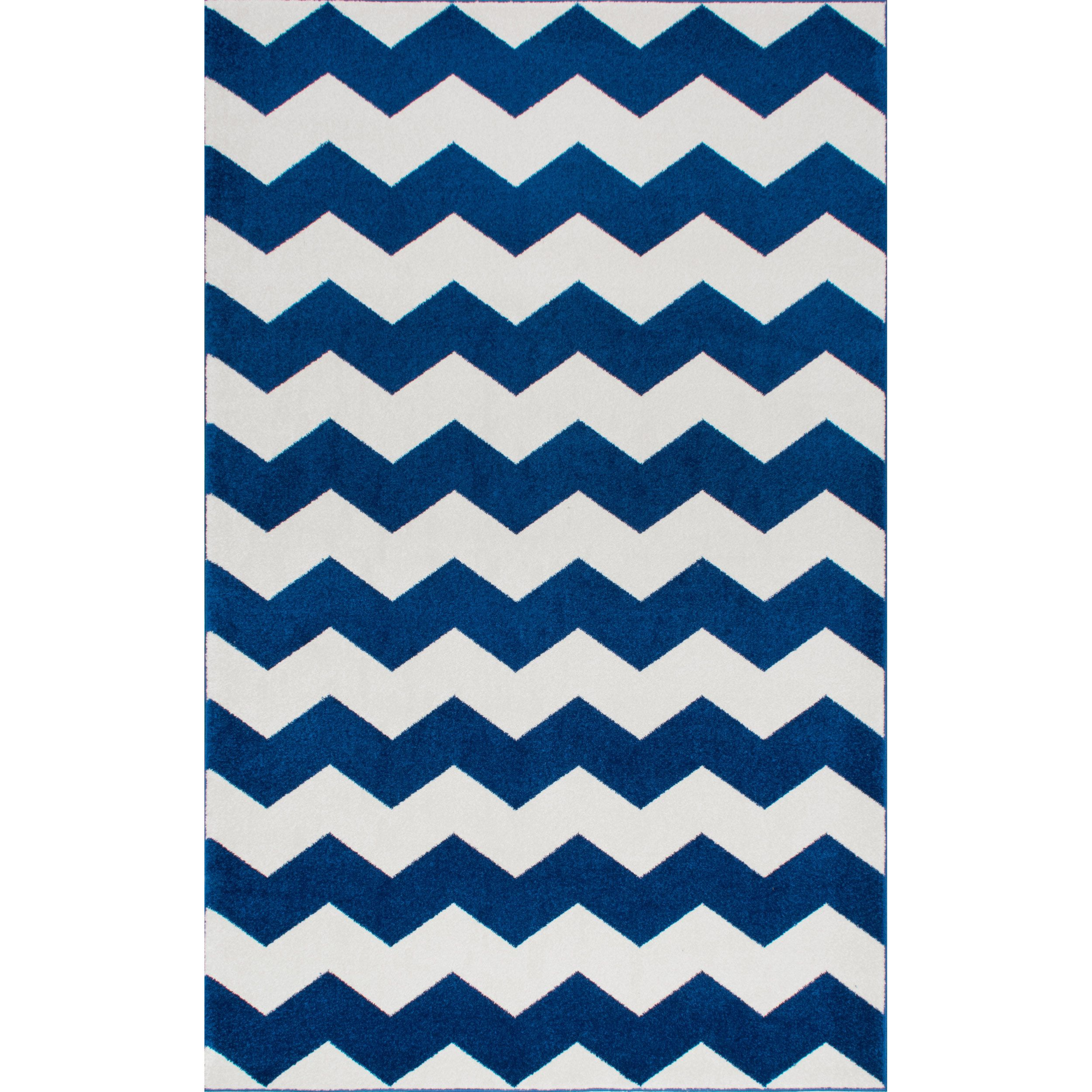 nuloom geometric chevron kids rug (' x ') (grey)  products - nuloom geometric chevron kids rug