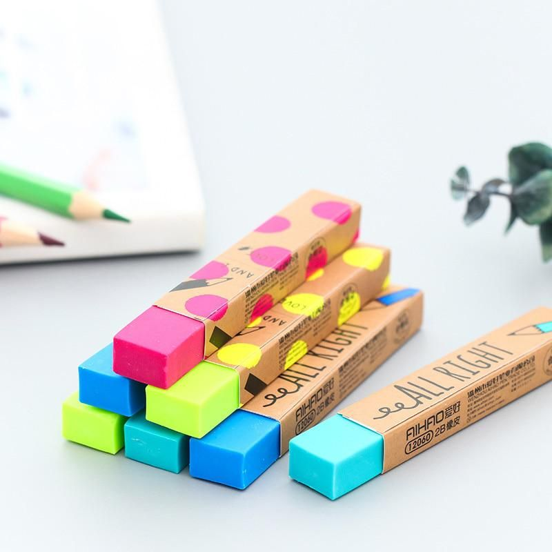 Double Color Eraser Primary Student Prizes Gift Cute Style Stationery