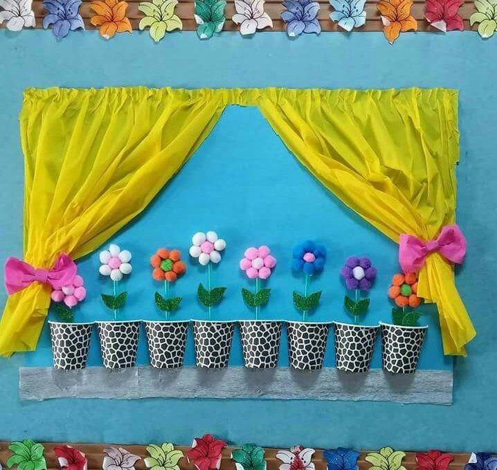 Winter Door Decorations for School | funnycrafts | Teacher ...