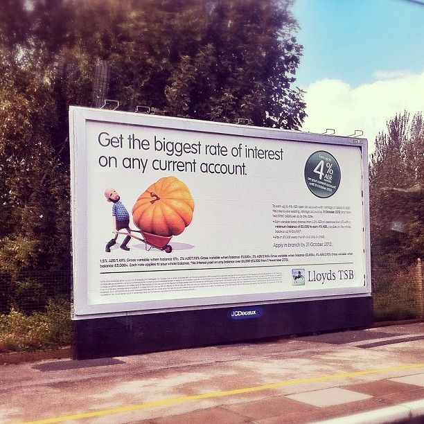 We Spotted Our Lloyds Tsb Giant Pumpkin On The Way To Runcorn