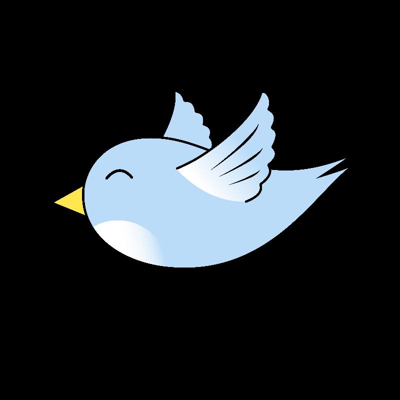 cute blue flying bird by tigerlynx cute flying cartoon bird in blue rh pinterest com cartoon birds flying video cartoon birds flying video