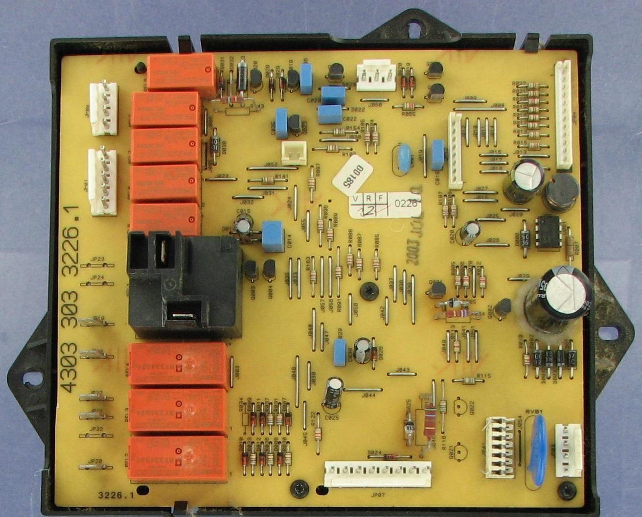Whirlpool 8300795 Range Electronic Control Board