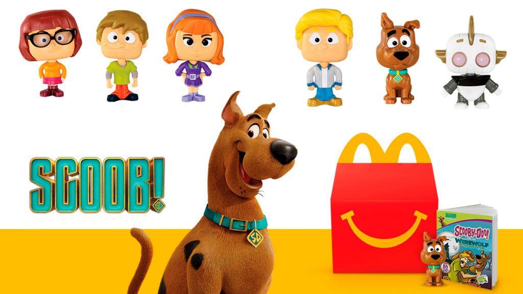 Scooby E Tema De Brindes Do Mclanche Feliz Australia E Reino Unido Geek Publicitario Em 2020 Scooby Doo Reino Unido Australia