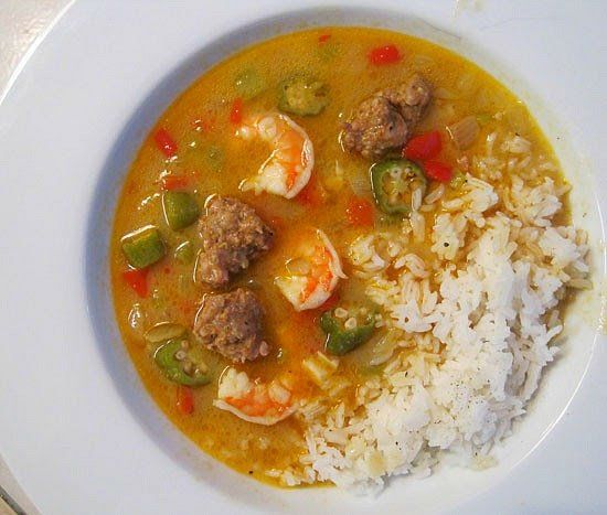 30 Easy Shrimp Recipes For Weeknight Dinners: Easy 30 Minute GUMBO Recipe. Shrimp And Sausage, Delicious