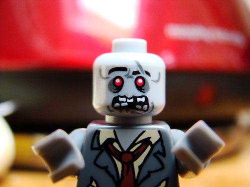 Lego Zombie #ZOMBIE | Lego zombies, Lego portrait, Lego