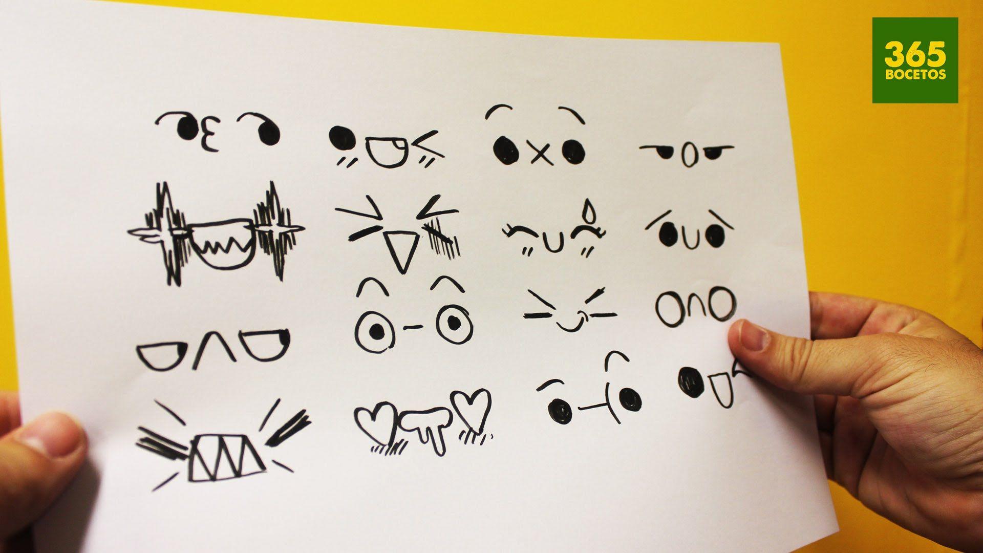 Expresiones kawaii para tus dibujos n 3 dibujos kawaii for Comedor facil de dibujar