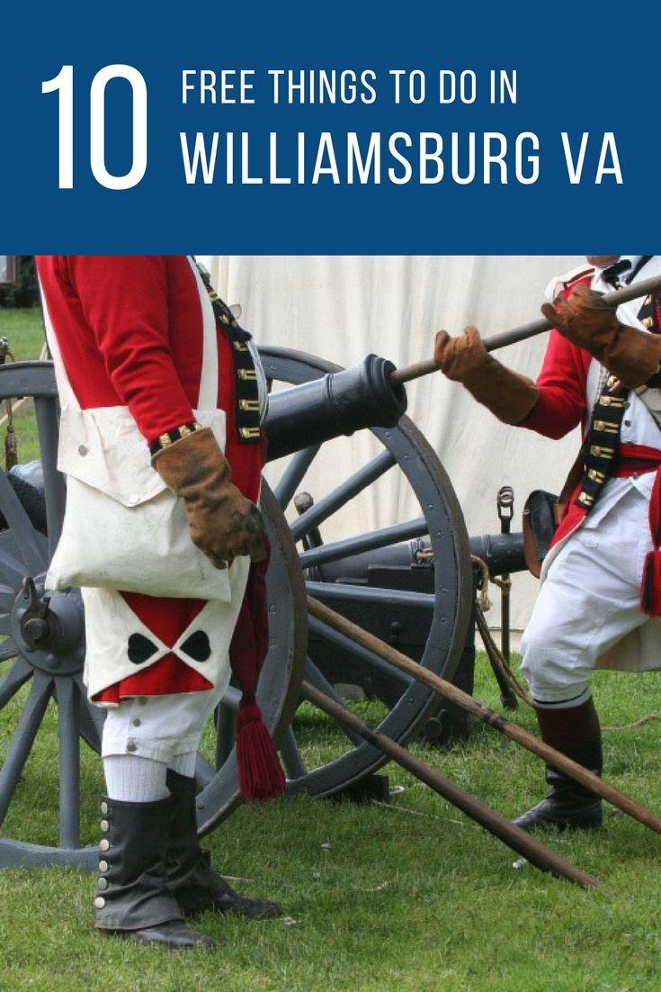 10 Free Things To Do In Williamsburg VA