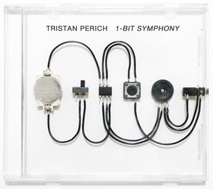 1 Bit Symphony By Tristan Perich Installaties
