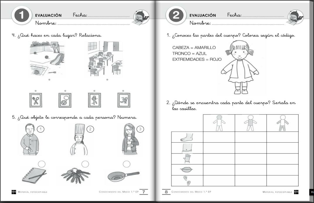 El blog de primero: Cuadernos de evaluación para las áreas de ...