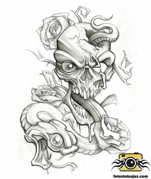 Plantillas Tatuajes De Serpientes Tatto