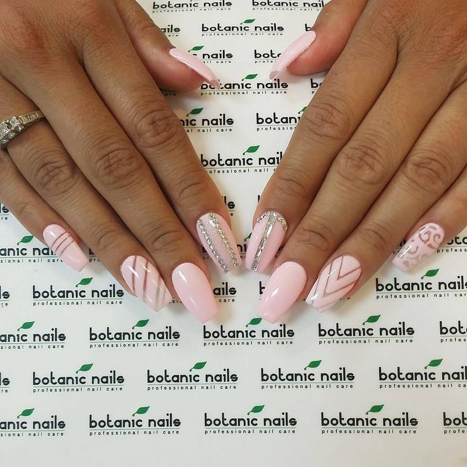 Simple nail designs for acrylic nails | Nails | Pinterest | Simple ...