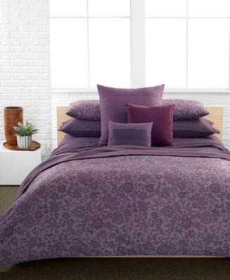 Calvin Klein Somerset Comforter And Duvet Cover Sets Macys Com Comforter Sets Home Decor Bedding Queen Comforter Sets