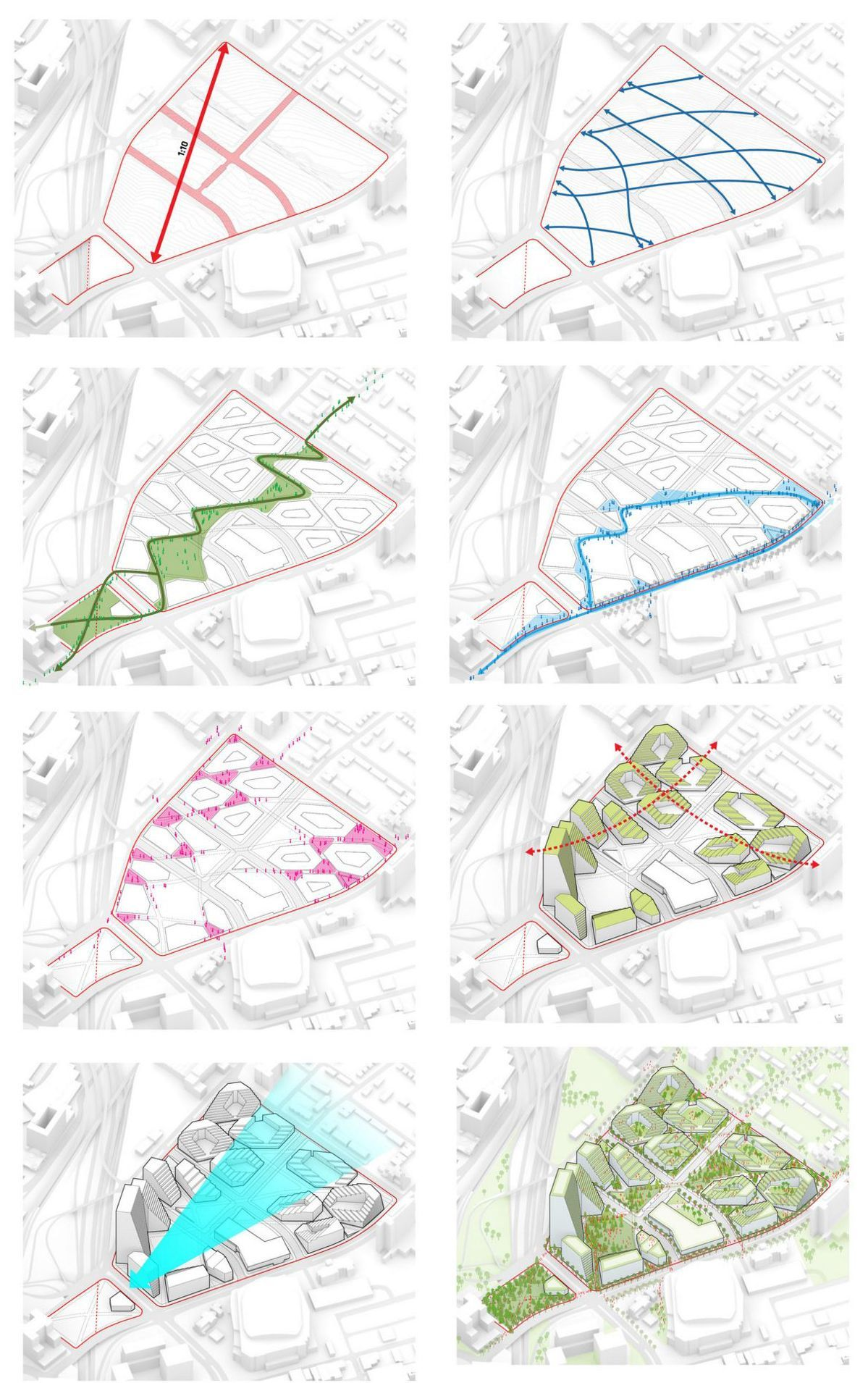 Gallery of New Lower Hill Masterplan / West 8 + BIG + Atelier Ten  - 8
