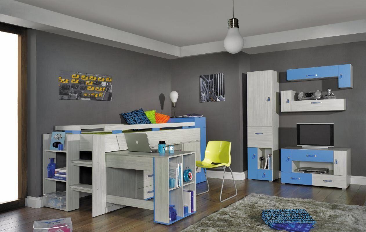 Kinderzimmer Set *1 Schrank *1 TV Unterschrank *2