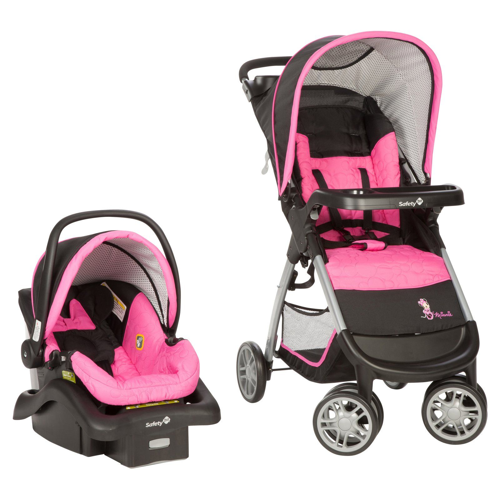 Disney Baby / Safety 1st Amble Quad Travel System Minnie