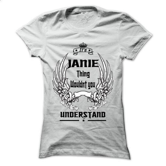 Is JANIE Thing - 999 Cool Name Shirt ! - #tee tree #pink sweatshirt. I WANT THIS => https://www.sunfrog.com/Outdoor/Is-JANIE-Thing--999-Cool-Name-Shirt-.html?68278