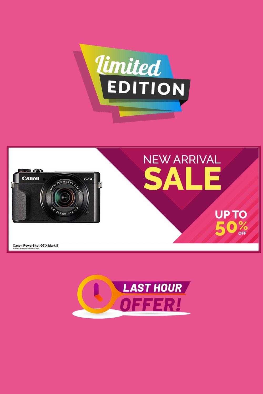 List Of 10 Canon Powershot G7 X Mark Ii Black Friday Deals 2020 In 2020 Canon Powershot Powershot Black Friday Deals