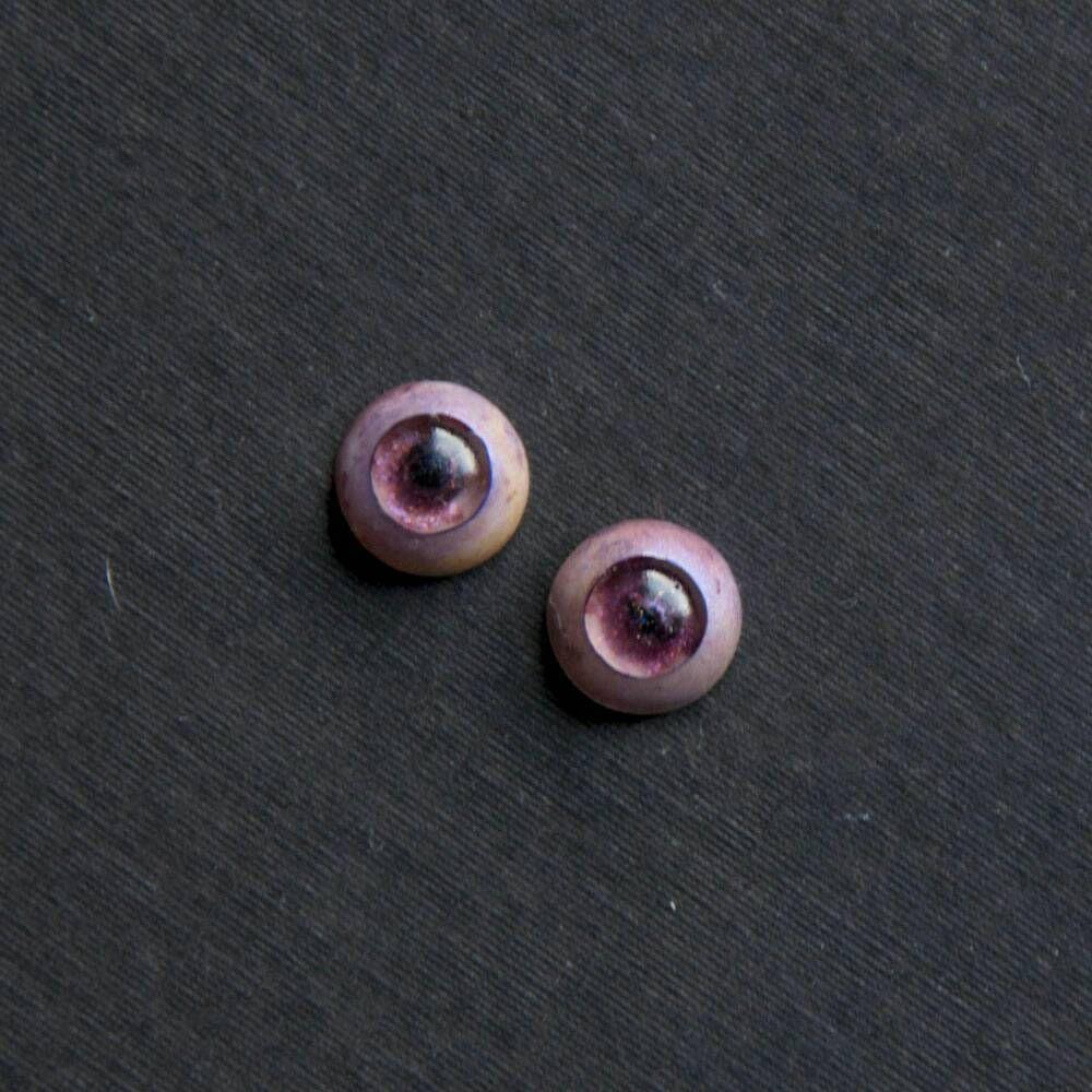 unique resin eyes for bjd doll 12mm handmade bjd eyes no pupil eyes fantasy eyes doll eyes pink eyes artist bear eyes reborn eyes