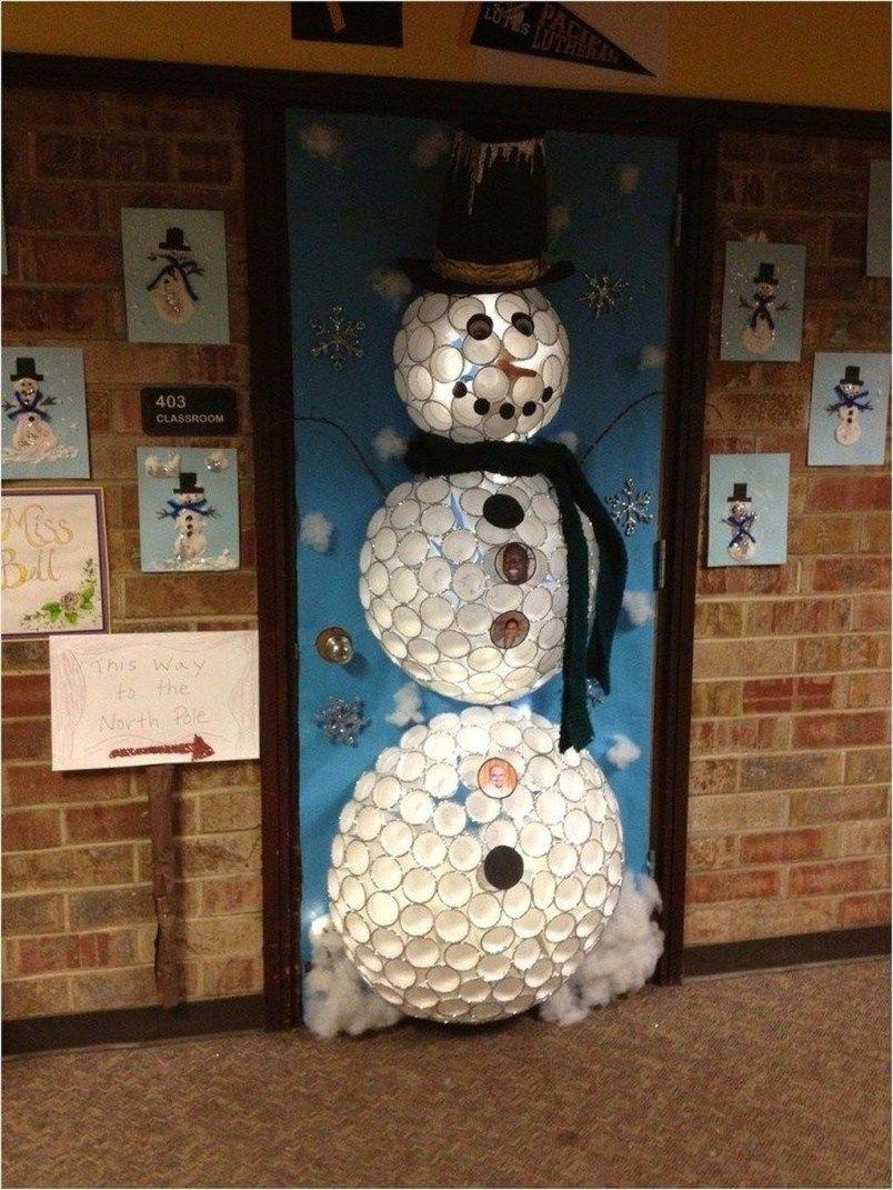 20+ Totally Inspiring Winter Door Decoration Ideas in 2020 ...