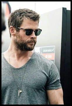 Thor Ragnarok Haircut Chris Hemsworth Hairstyle Frisuren
