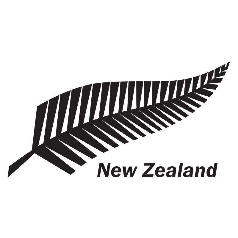 Silver Fern Tree New Zealand Kiwi Symbol Vinyl Decal Car