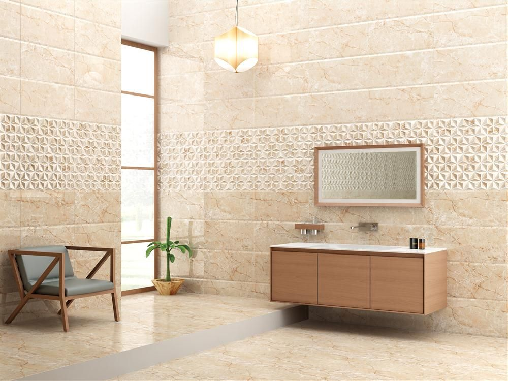 Spring Peach Wall Tile Size 300x600