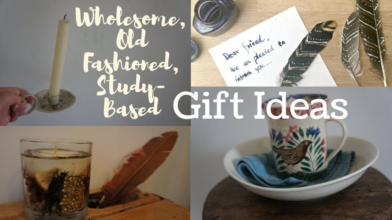 StudyBased, Wholesome & Old Fashioned Gift Guide! A