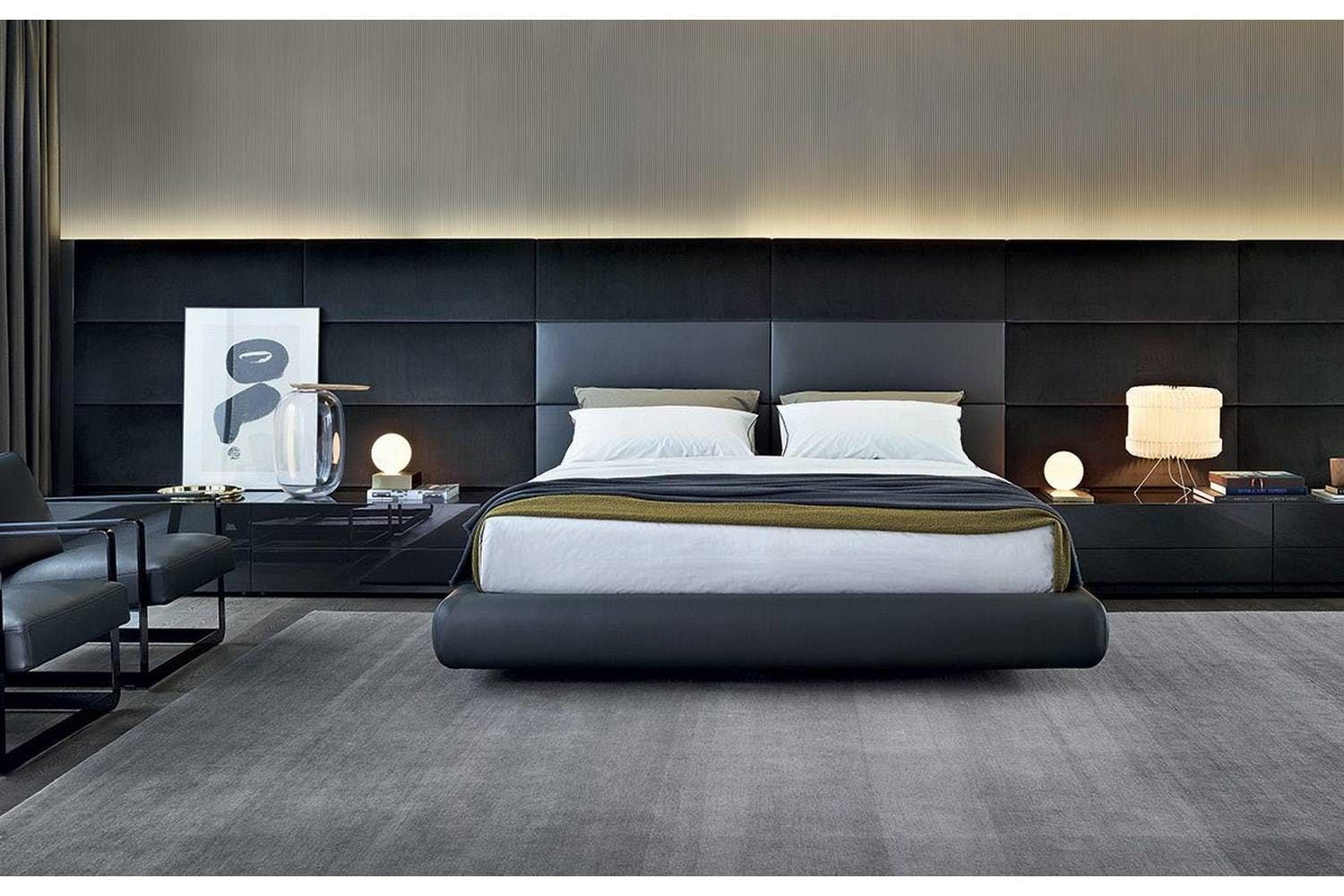 dream master bedroom%0A Dream Bed by Marcel Wanders for Poliform