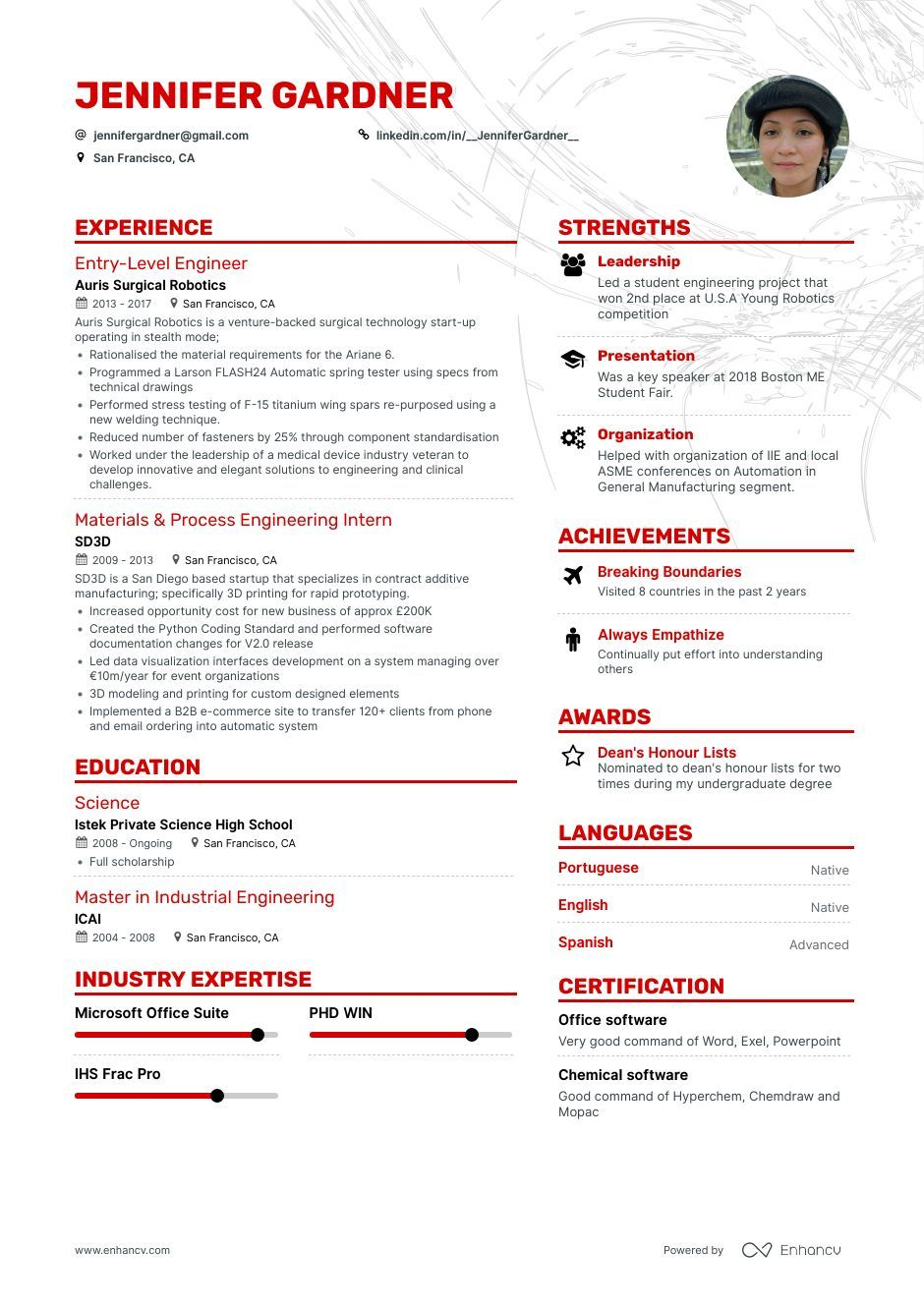 How to write an engineering intern resume that will get