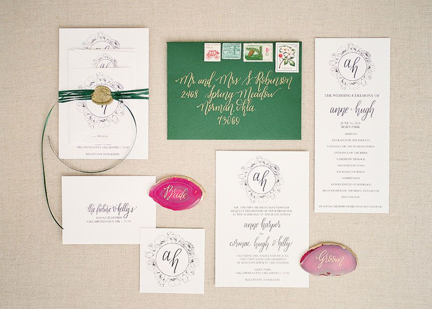 Dreamy Jewel Toned Wedding Inspiration Planner