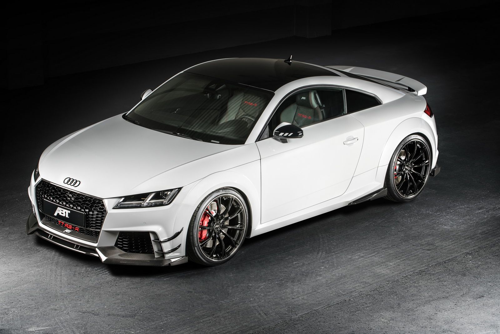 abt presented the audi tt rs r the car s 5 cylinder 2 5 liter turbo rh pinterest com