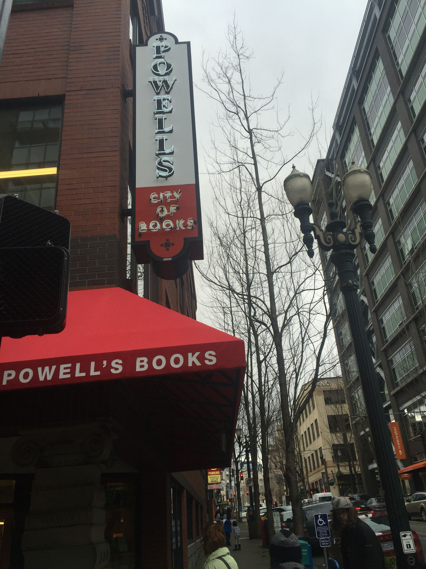 Powells bookstore, Portland,OR. I could have stayed for hours