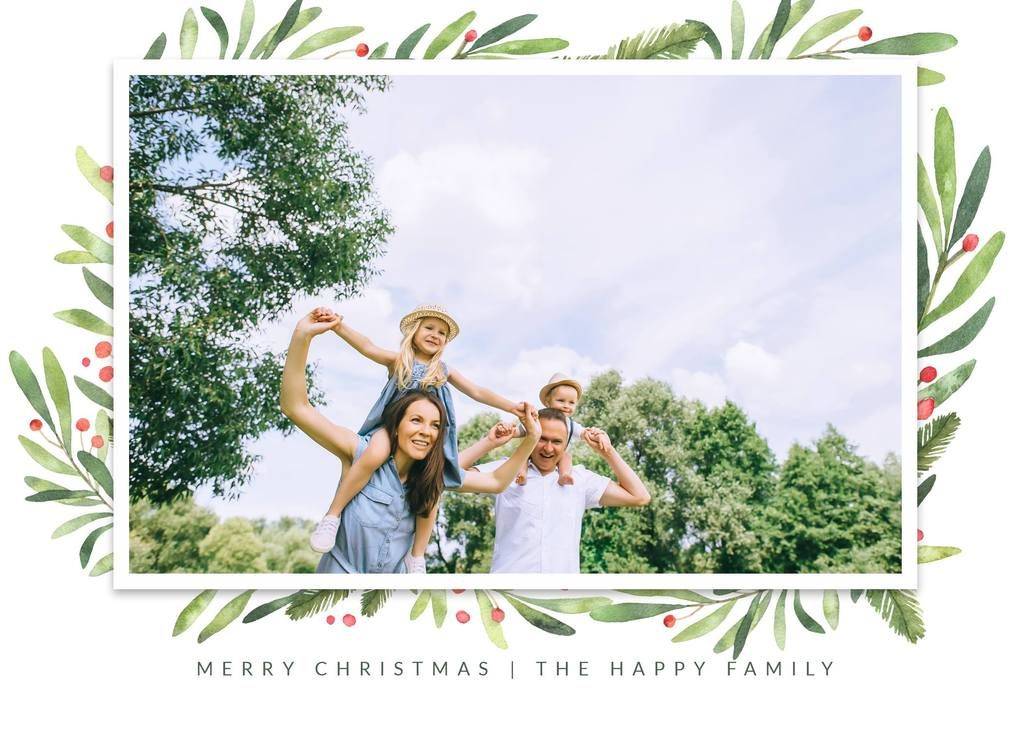 3 Free Christmas Holiday Card Templates Holiday Card Template Free Christmas Photo Cards Photo Card Template