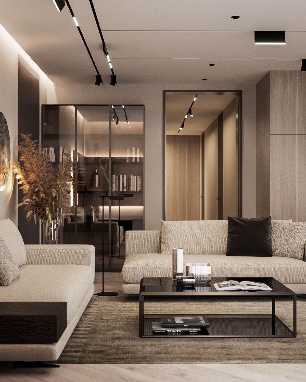 Modern Apartment: Modern Apartment By Dezest #poliform #molteni #minotti
