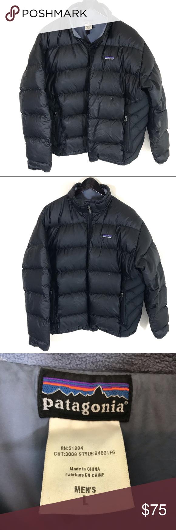 Men S Patagonia Black Down Jacket Black Down Jackets Down Jacket [ 1740 x 580 Pixel ]