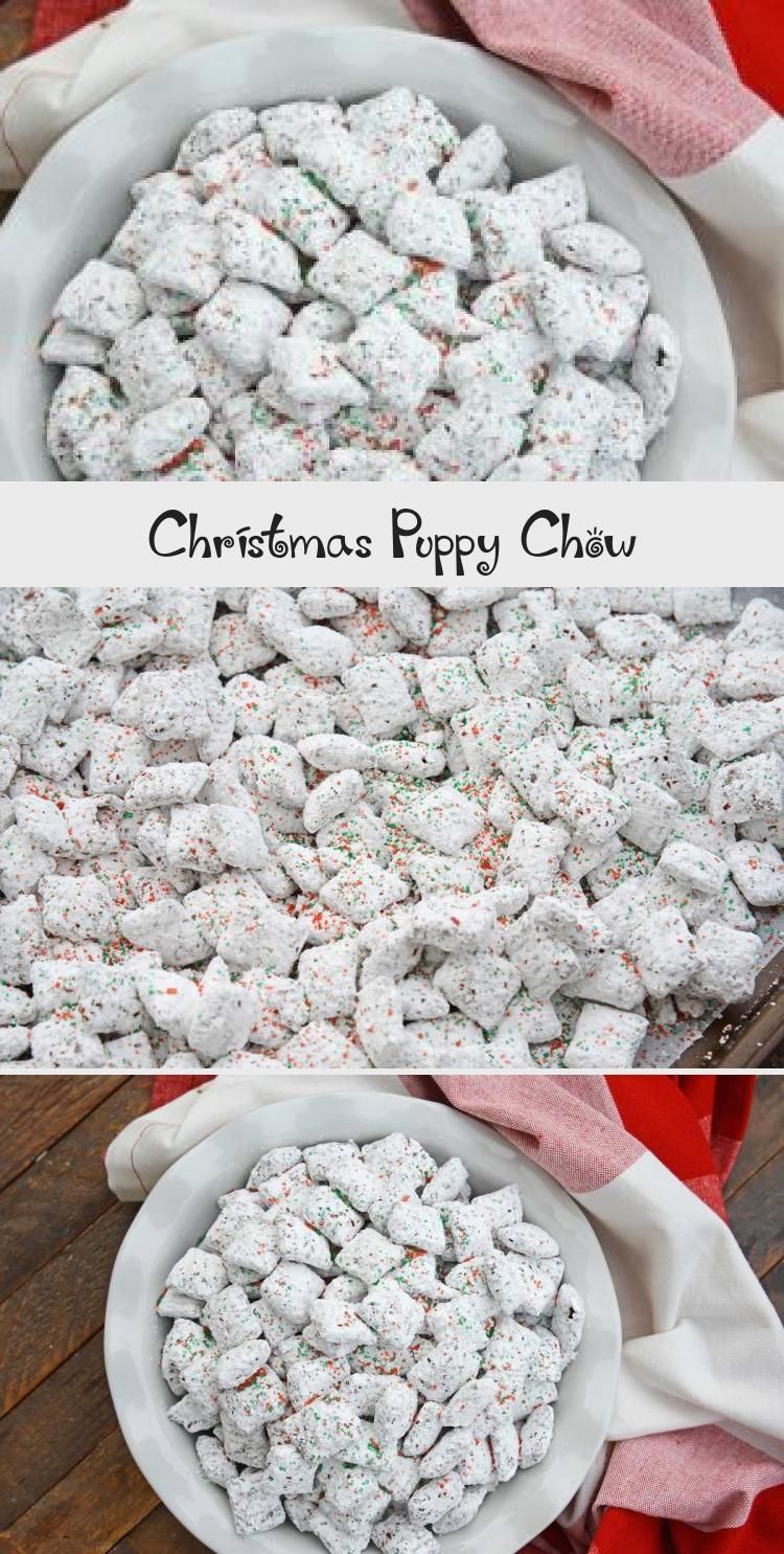 Christmas Puppy Chow puppychow Puppy chow christmas
