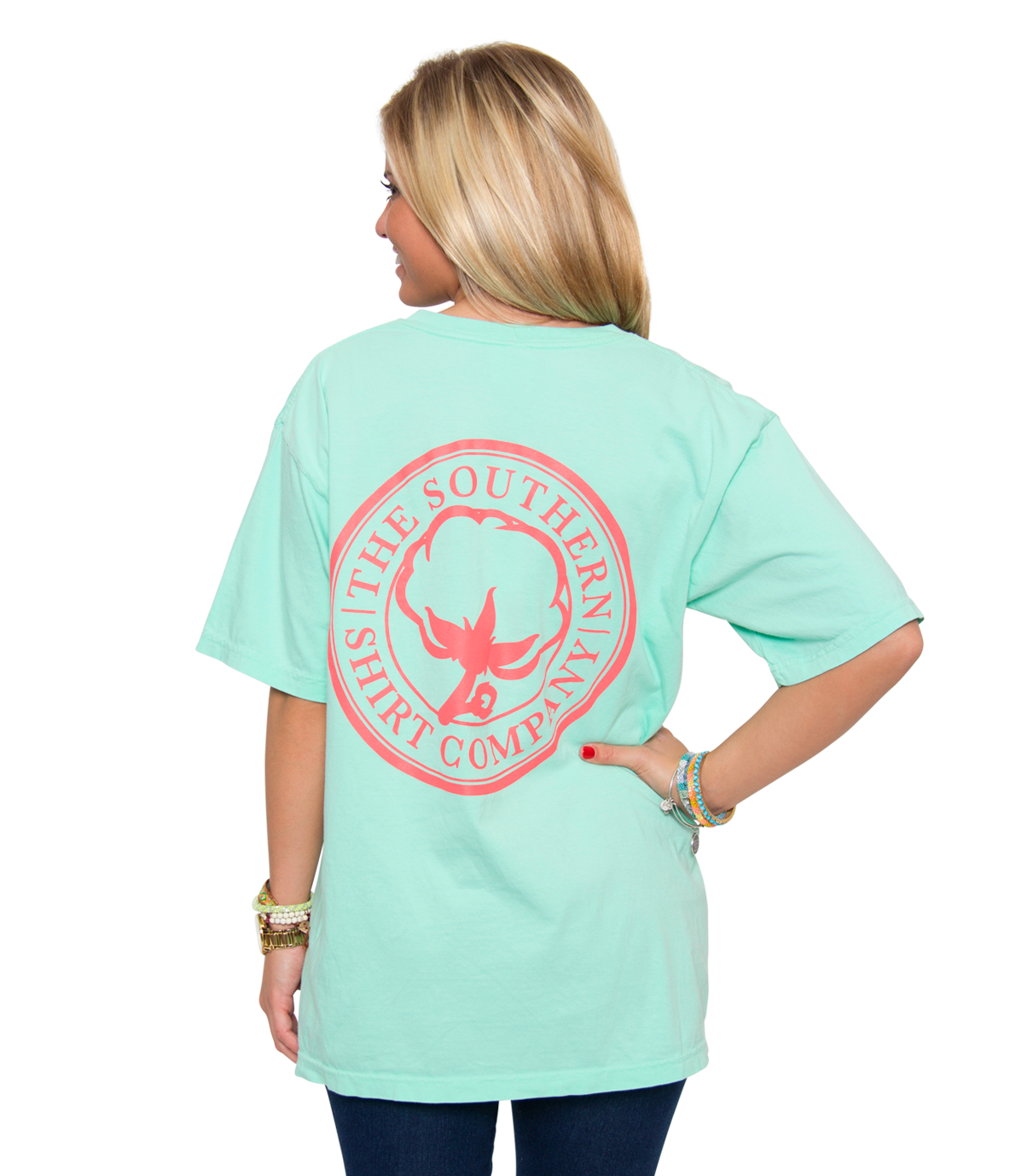 Carly Vneck S/S | Reef | The Southern Shirt Company |#dearSouthernShirt all time fav.