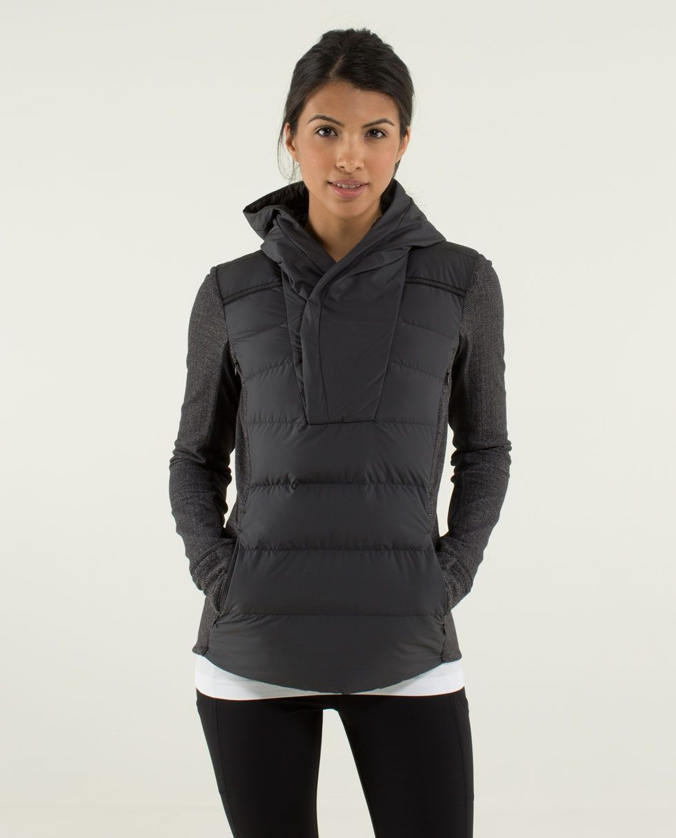 c2da8ca63126 Fluff Off Pullover - Best. Idea. Ever. Leave it up to lululemon to think of  this...a cross between a down jacket and a pullover. GENIUS!